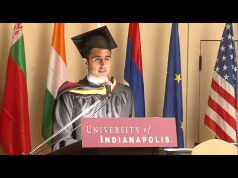 University of Indianapolis (Athens Campus) Valedictorian Address 2012