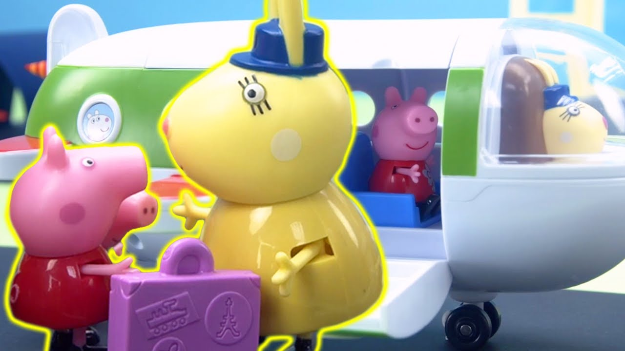 Peppa Pig's Holiday   Peppa Pig Stop Motion   Peppa Pig Toys   Toys fir Kids
