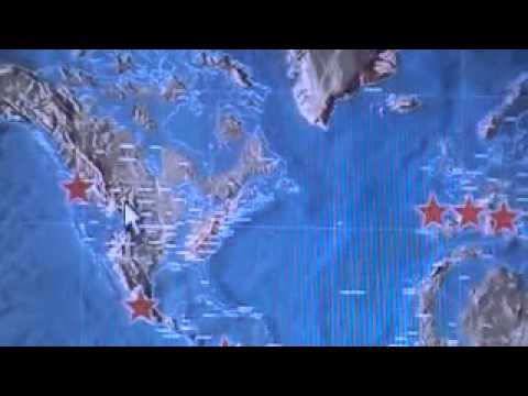 Future Map Of The World For YouTube - Edgar cayce future us map