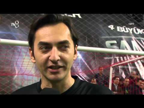 TV8 ve NTVSPOR Maçı Öncesi Röportajlar | 4 Büyükler Salon Turnuvası | (16.01.2016)