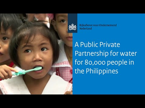 A Public Private Partnership for water for 80,000 people in the Philippines