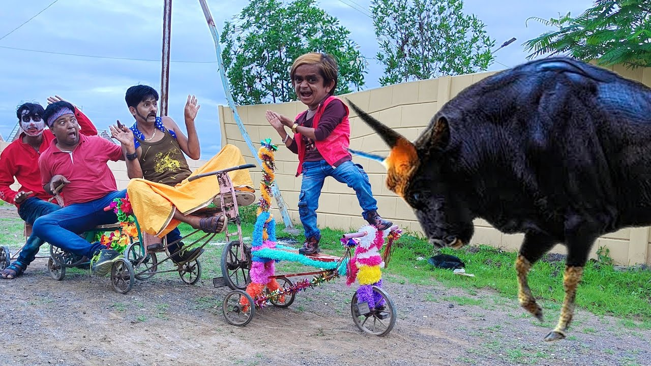 छोटू दादा की साइकल रेस | CHOTU DADA ki CYCLE RACE | Hindi Funny Comedy Video | Chhotu Comedy Video