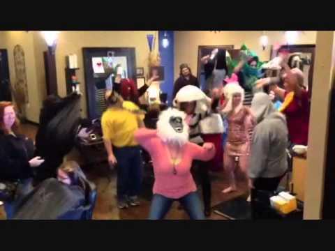 Harlem Shake Salon Style