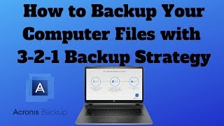 How to Backup Your Computer Files