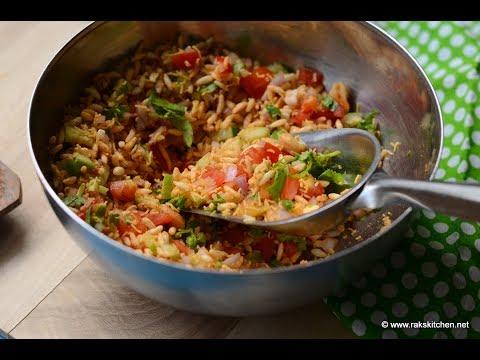 Jhal muri recipe, how to make jhalmuri at home