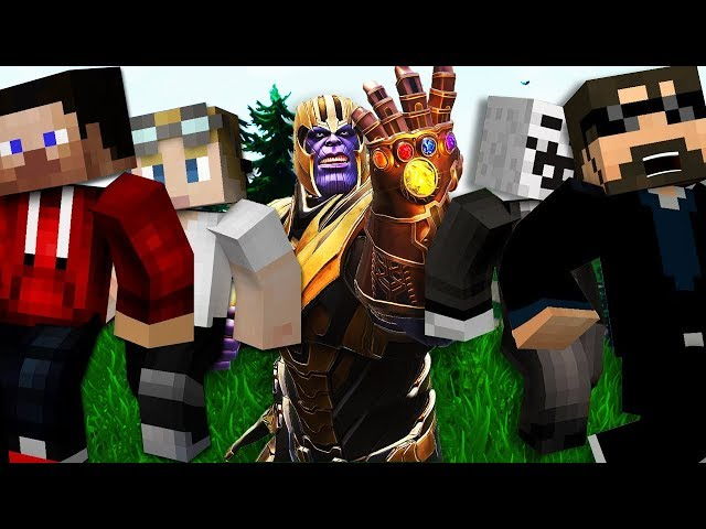 Minecraft: FORTNITE MURDER | MODDED MINI-GAME