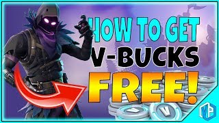 HOW TO GET FREE V-BUCKS In Fortnite: Battle Royale FREE RAVEN SKIN (This Actually Works...)