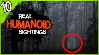 10 REAL Humanoid Sightings | Darkness Prevails