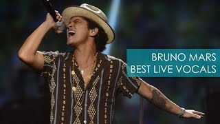 Bruno Mars' Best Live Vocals
