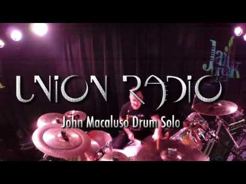 John Macaluso - Drum Solo 2016 - Union Radio Live
