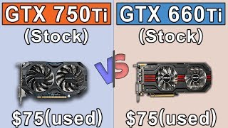 Обложка GTX 750 Ti Vs GTX 660 Ti New Games Benchmarks