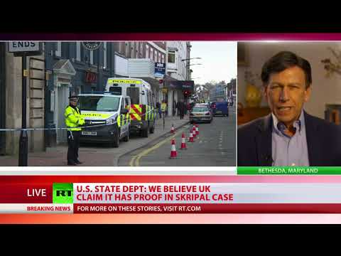 \'No guarantee we'll survive this new Cold War\' – Peter Kuznick comments on Skripal case