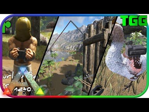 Ark Survival Evolved | Zipline, Dodo Saddle Bag, and Blindfold Mods (Ark Mod Spotlight)