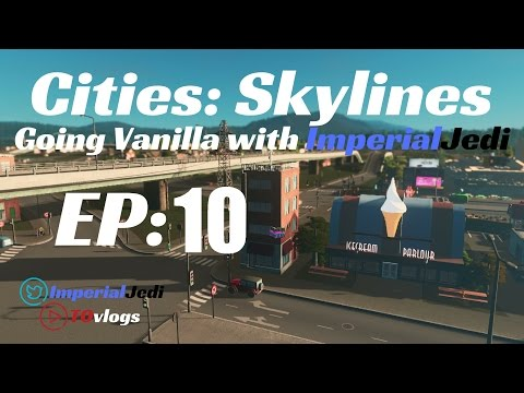 Let's Play Cities: Skylines - EP10: Expanding the Campus [Vanilla Series]