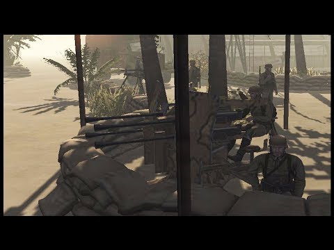 TUNISIA AIRFIELD ASSAULT ~ Very Difficult Mission - Men of War: Assault Squad 2