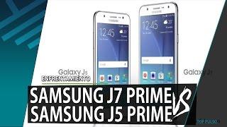 samsung j7 prime vs samsung j5 prime   enfrentamiento   review   unboxing