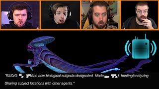 Let's Players Reaction To Warper Radio Message | Subnautica