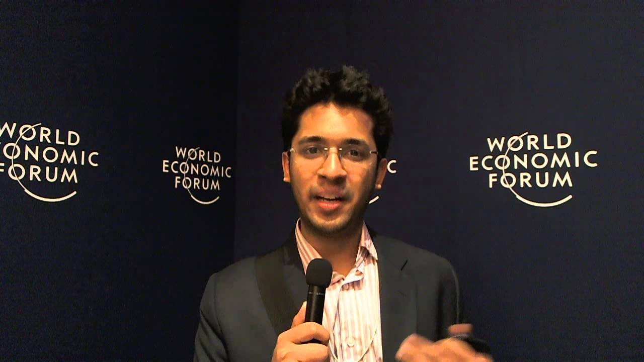 Sharad Lunia - World Economic Forum on India 2012 social media corner