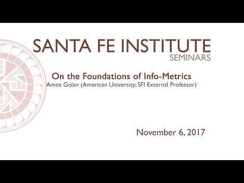 On the Foundations of Info-Metrics