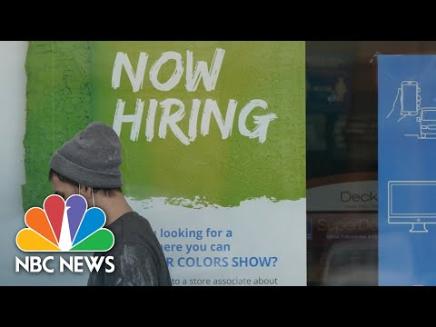 Governors Target Unemployment Benefits To Get Employees Back To Work