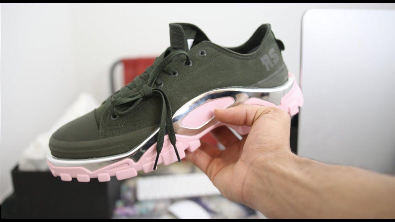 adidas Originals by Raf Simons RS Detroit Runner Green Pink