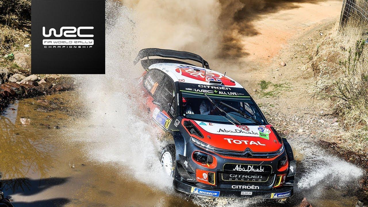 WRC - Rally Guanajuato México 2018: Shakedown Highlights
