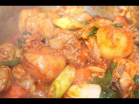닭도리탕 황금레시피 맛있게 만드는 법 - 매�