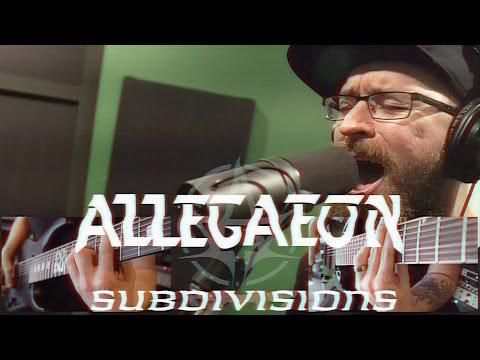 """Allegaeon """"Subdivisions"""" (RUSH COVER)"""