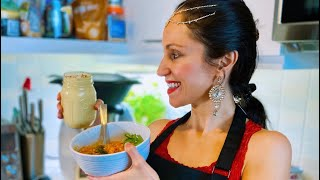 "Free Plant-Based Cooking Class ""A TASTE OF INDIA"" Live w/Cheryl from VeginnerCooking.com💚#EasyRecipe"