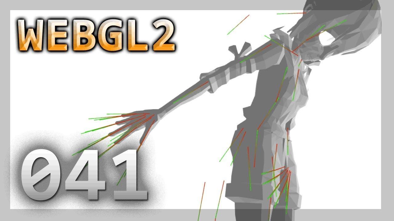 WebGL 2 : 041 : Load Meshes / Skeletons from GLTF
