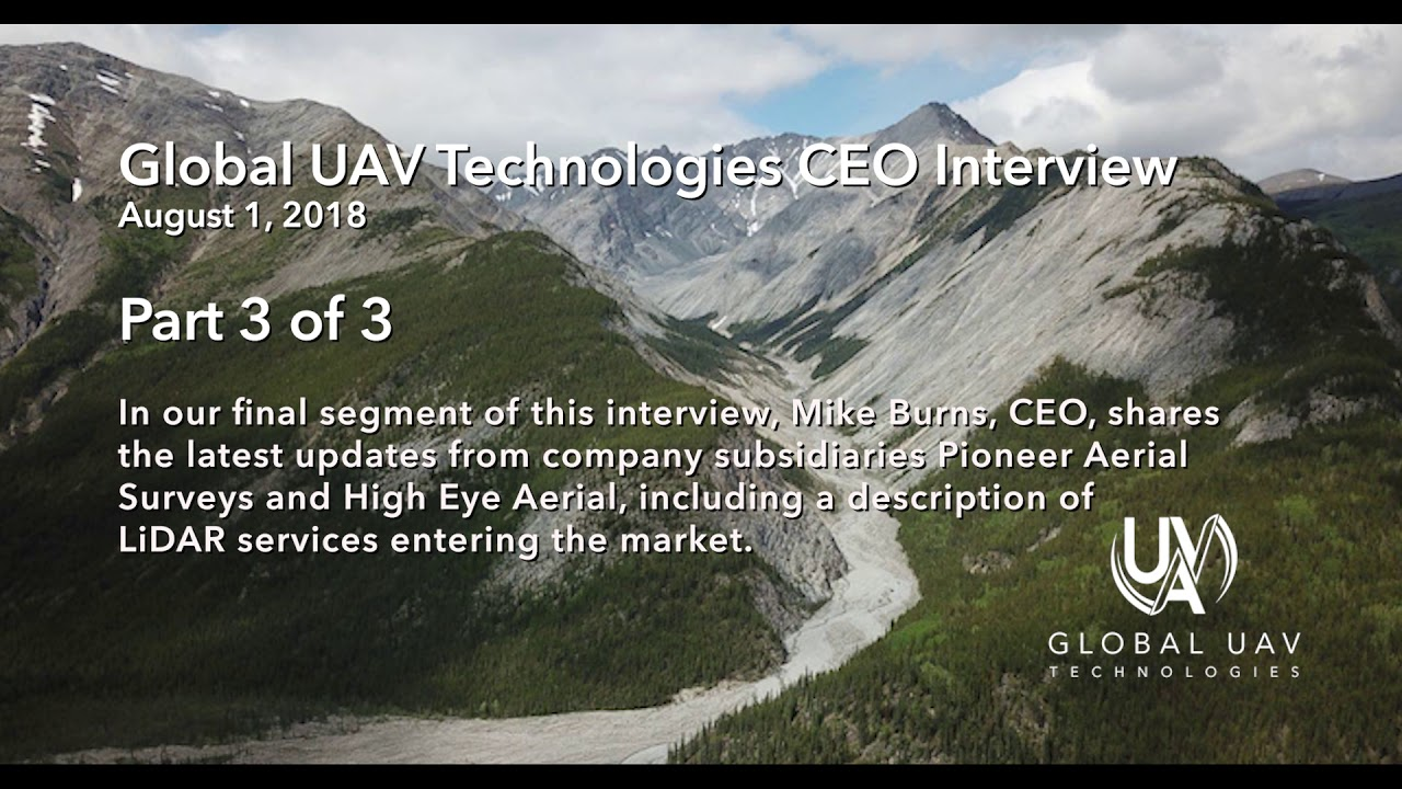 Global UAV Updates: A CEO Interview with Mike Burns :: Part 3 of 3