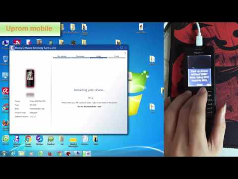 How to flasing software nokia 301 with Nokia Software Recovery Tool