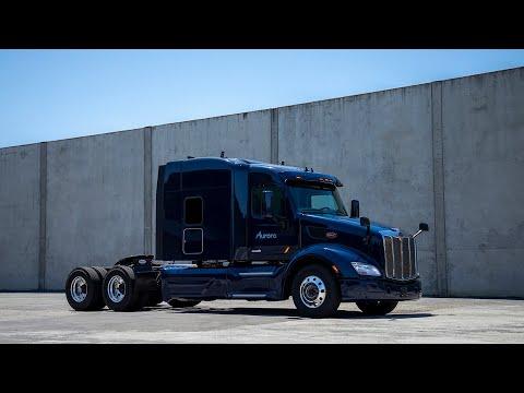 Aurora's path to market starts with trucking