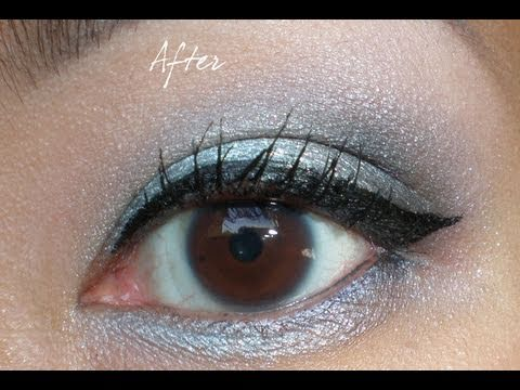 how to apply winged gel eyeliner youtube. Black Bedroom Furniture Sets. Home Design Ideas