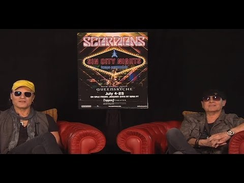 Scorpions new album in 2020 ?? Klaus Meine and Matthias Jabs interviewed + Vegas shows!