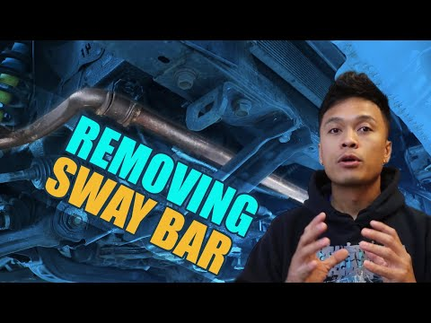 Mini-Mods: How To Remove The Sway Bar On The Tacoma (Sway Bar Delete)