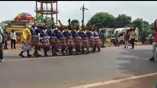 9 August 2018  Advivasi Day's  Bharuch valia Road Shaw