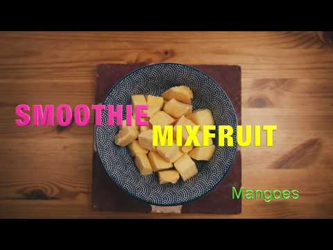 Smoothie Recipe Mix Fruits  Philips Standmixer HR3657/90 Avance Collection
