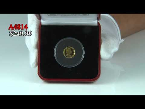 2010 British Virgin Islands Gold Birth of Venus Coin