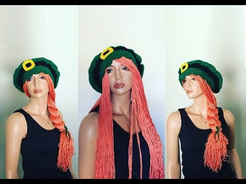 How To Crochet A Wig Hat Pattern 688by Thepatternfamily Youtube