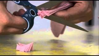 Térnyerők - Hogyan készítsünk illatos virágot szalvétából
