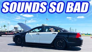 Uncle Sam Is DOWN Again. Track Day Goes HORRIBLY (Engine Sounds Terrible)