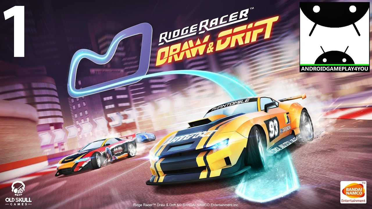 Ridge Racer Draw And Drift Android Gameplay 1 1080p 60fps By