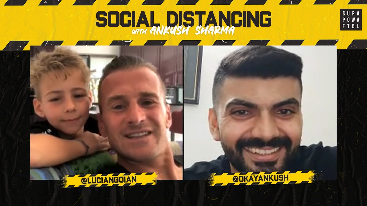 Lucian Goian: Social Distancing w/ Ankush Sharma #06