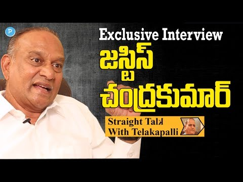 Retired High Court Judge Justice B.Chandra Kumar Interview || Straight Talk with Telakapalli