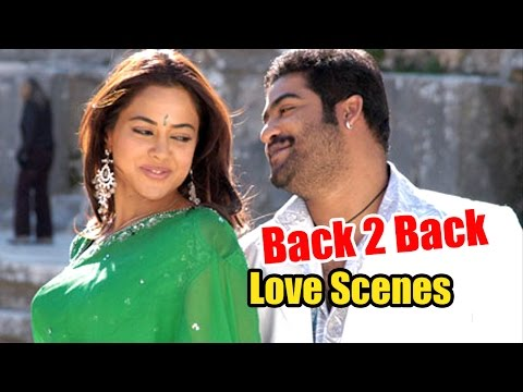 Ntr And Sameera Reddy Love Scenes From Ashok Movie...