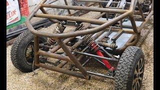 Как сделать багги своими руками. Передняя подвеска. Homemade buggy. Front suspension.