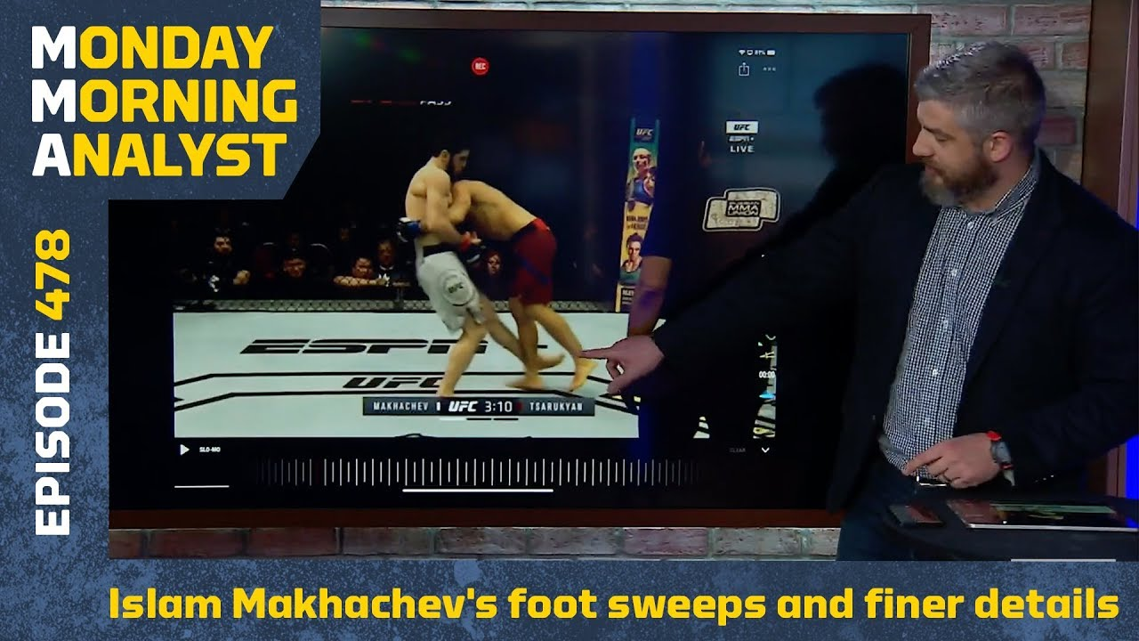 Breaking Down Islam Makhachev's Foot Sweeps and Finer Details | Monday Morning Analyst #478