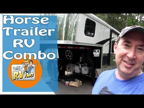 Horse Trailer RV Combo