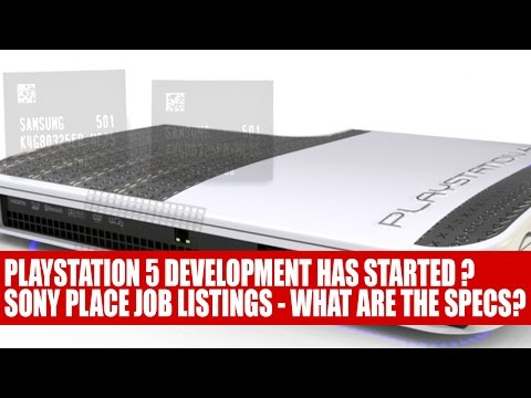 Sony Working On The Playstation 5 | Job Listings Asking For Developers Appear